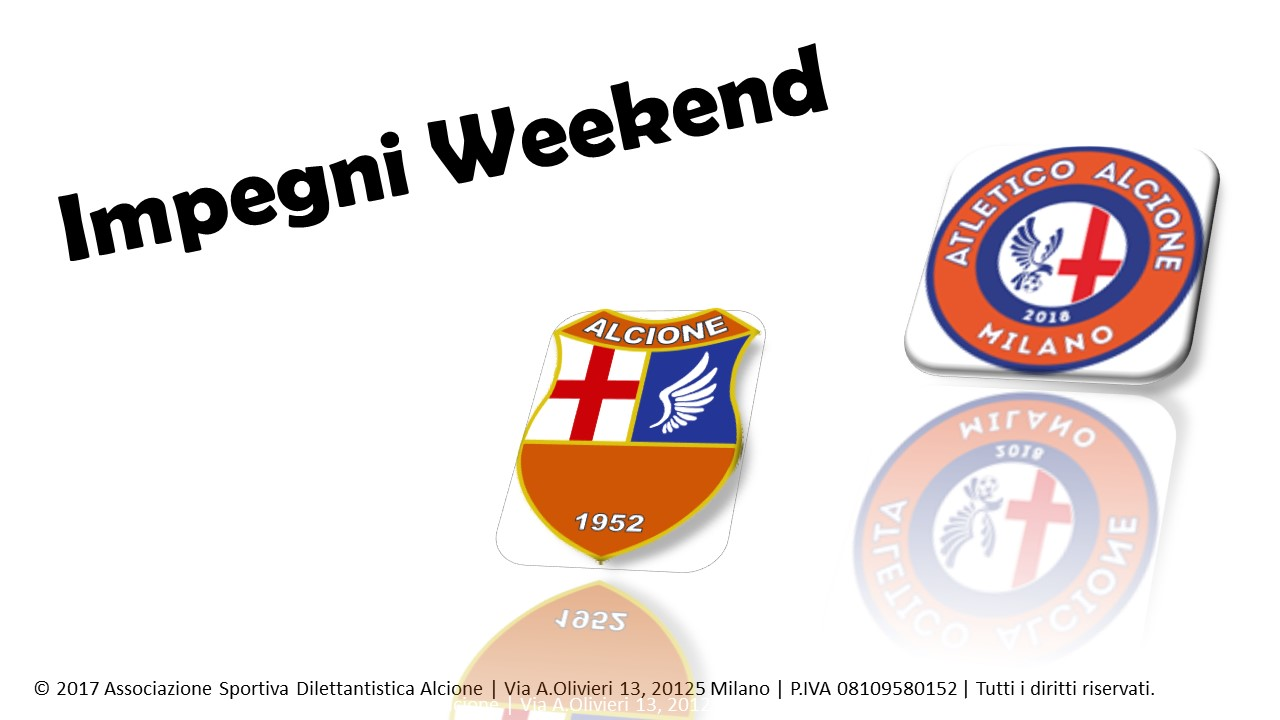 Impegni Weekend