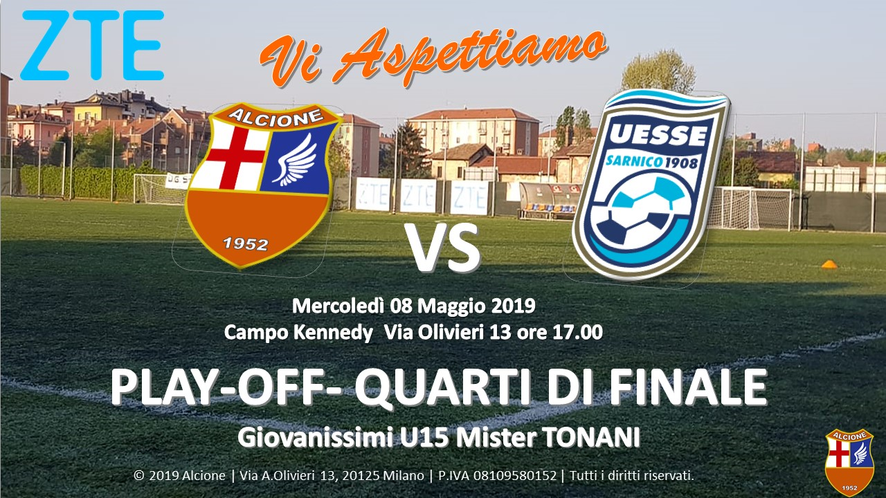 Partita 1 Play Off U15 Tonani