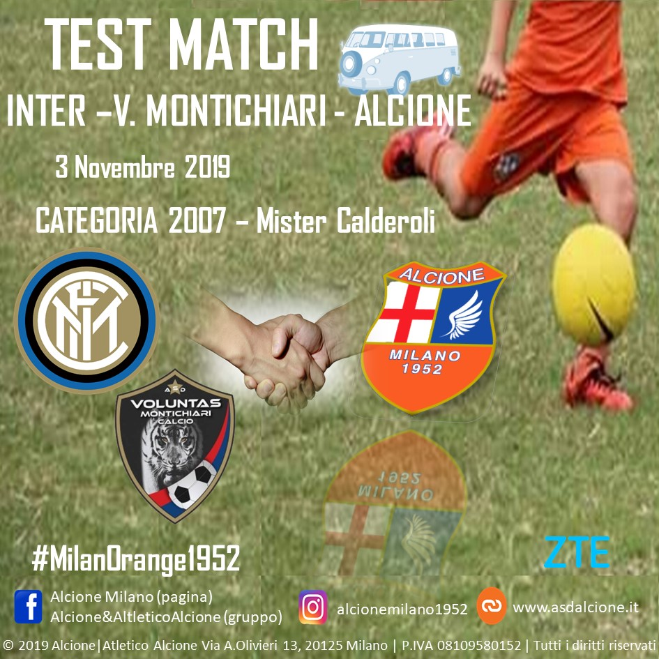 Test Match Inter trasferta 3 Novembre 2019 v1