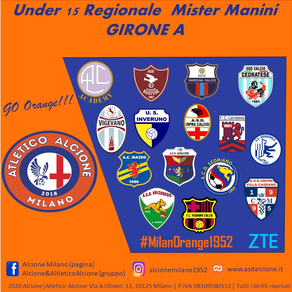 Girone Agonistica Under 15 Atletico