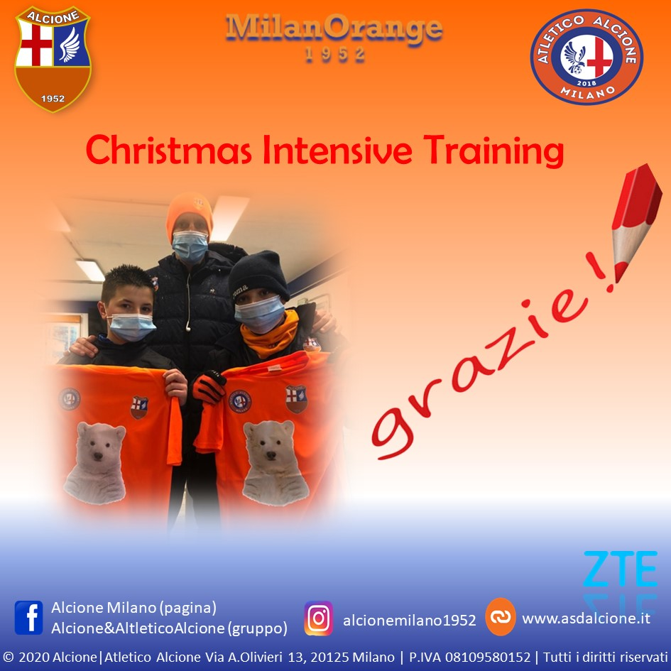 Christmas Intensive Training 2020 The End